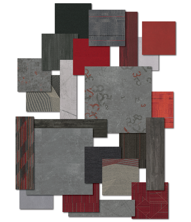 Education - Red and Black Palette