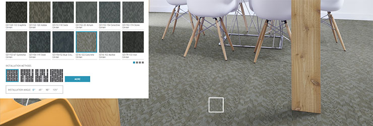 Commercial  Floor Covering Visualizer