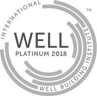 2018 WELL-platinum Certified Logo