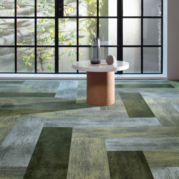 LVT with carpet | Milliken UK